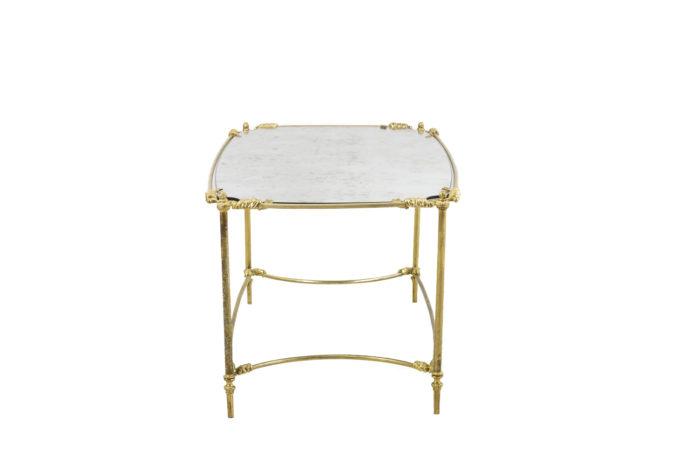 table basse style transition côté