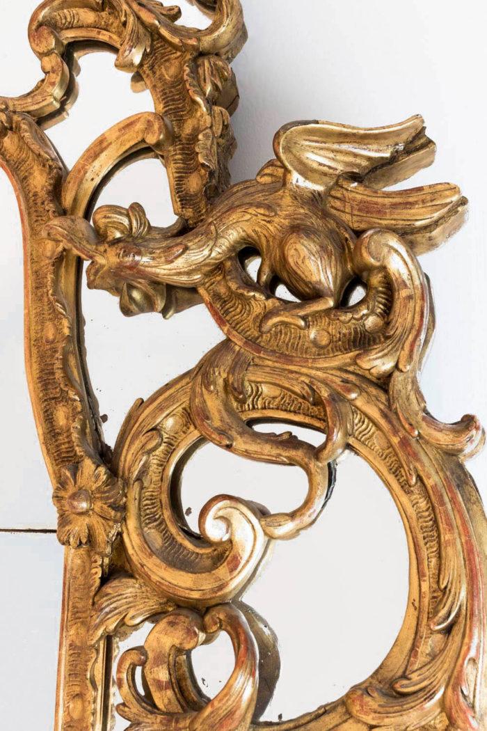 miroir parcloses régence chimere