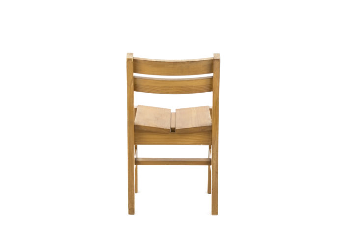 charlotte perriand chair les arcs back