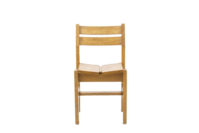 charlotte perriand chair les arcs front