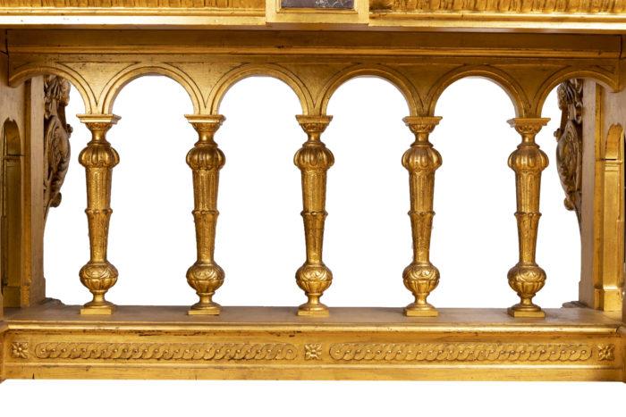 table style rneiassance colonnade piètement