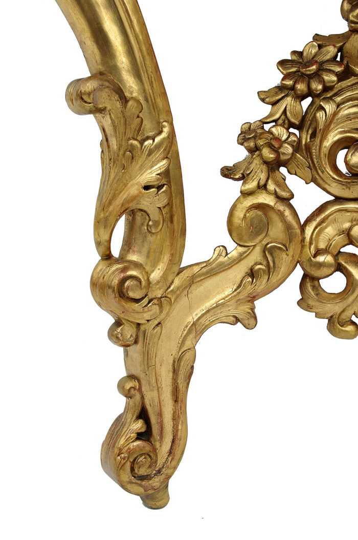 console style louis xv pied volute