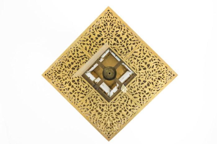oriental style chandelier below
