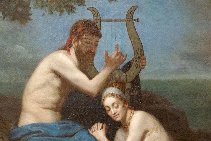 orphee et eurydice roucoule tableau detail