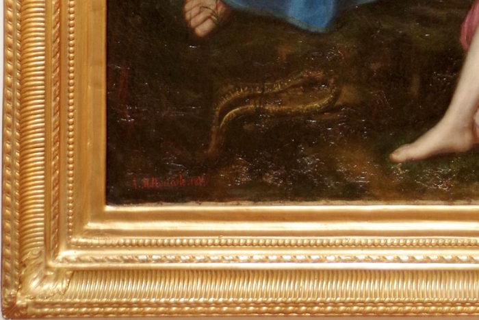 orphee et eurydice roucoule tableau signature