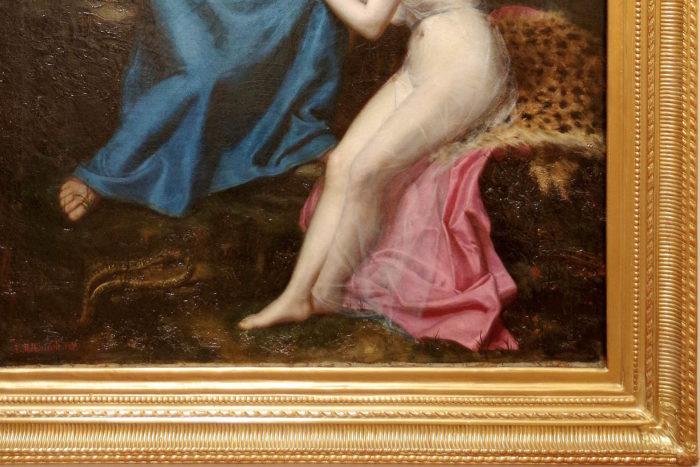 orphee eurydice tableau roucoule bas du tableau