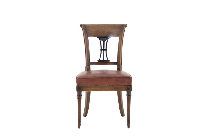 chaises style directoire face