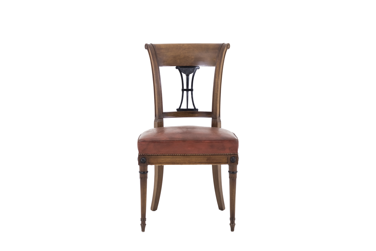 Phenomenal Set Of 6 Directoire Style Chairs In Mahogany Early 20Th Century Pabps2019 Chair Design Images Pabps2019Com