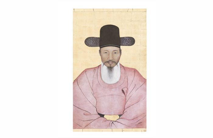 canvas chinese dignitary