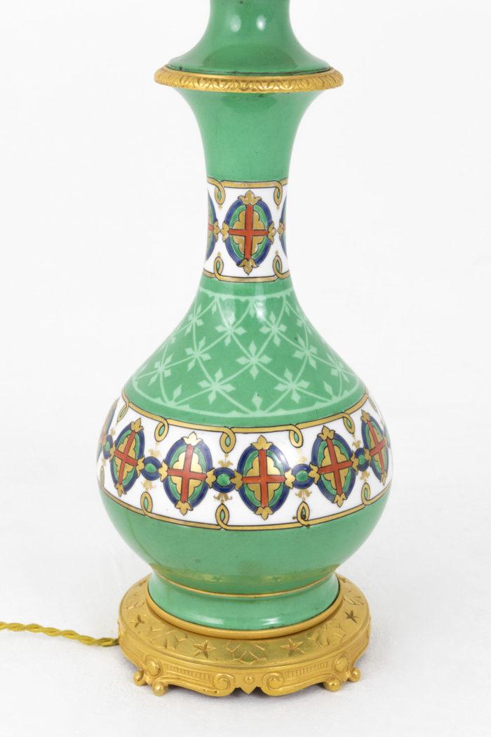 lampes porcelaine de paris balustre