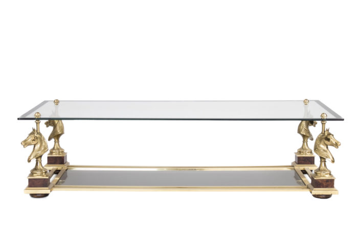 maison charles table basse cheval