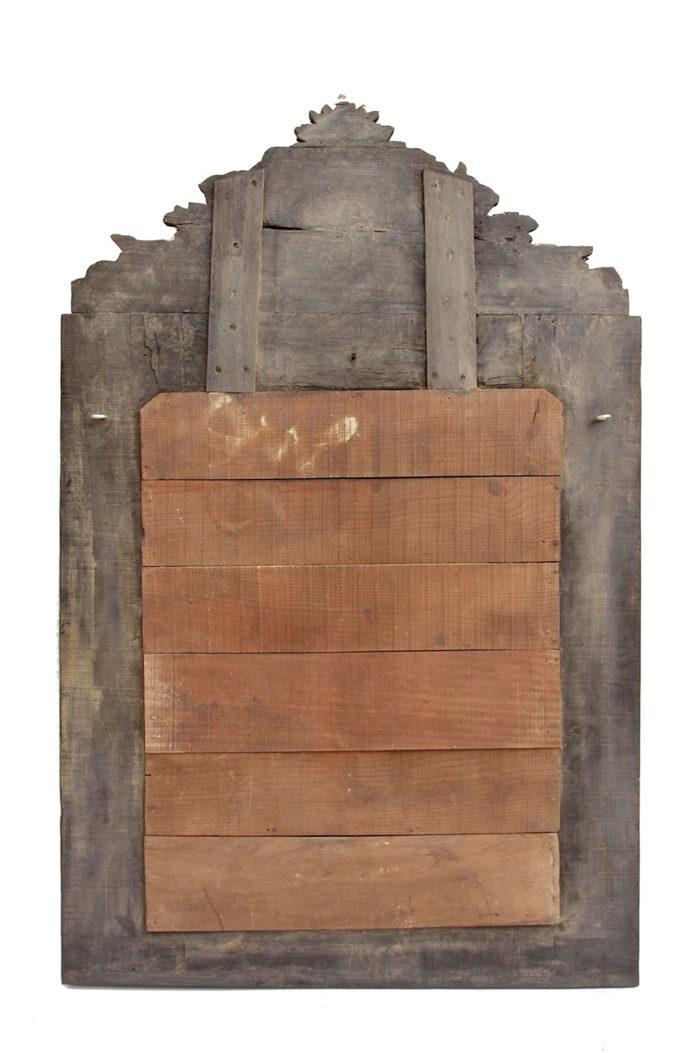 miroir style régence dos bois