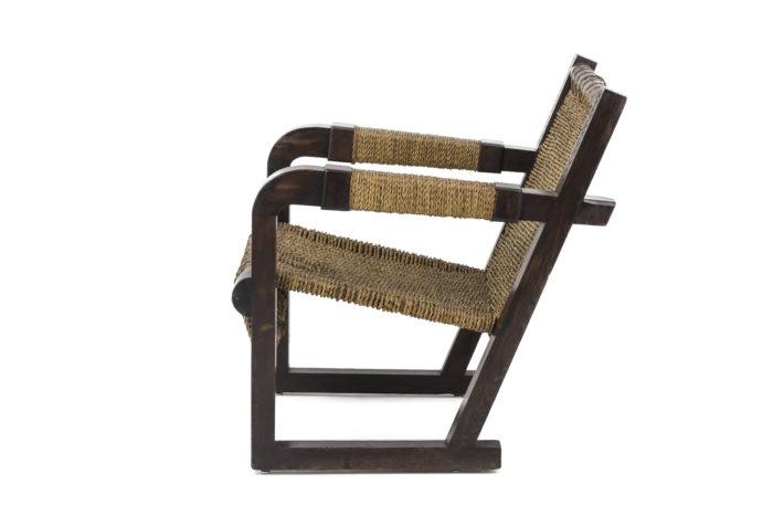 fauteuil art deco francis jourdain corde side 2