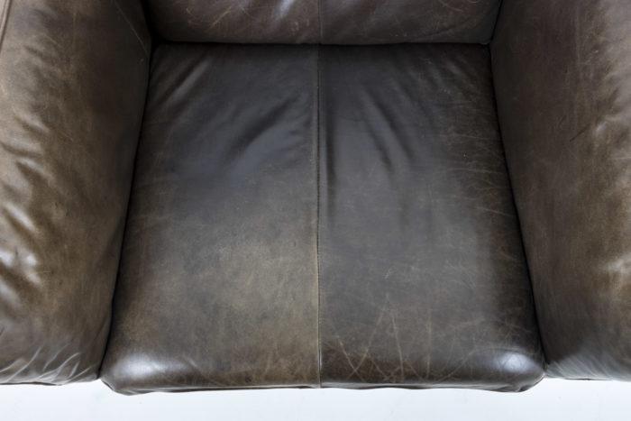 fauteuil cuir montis assise