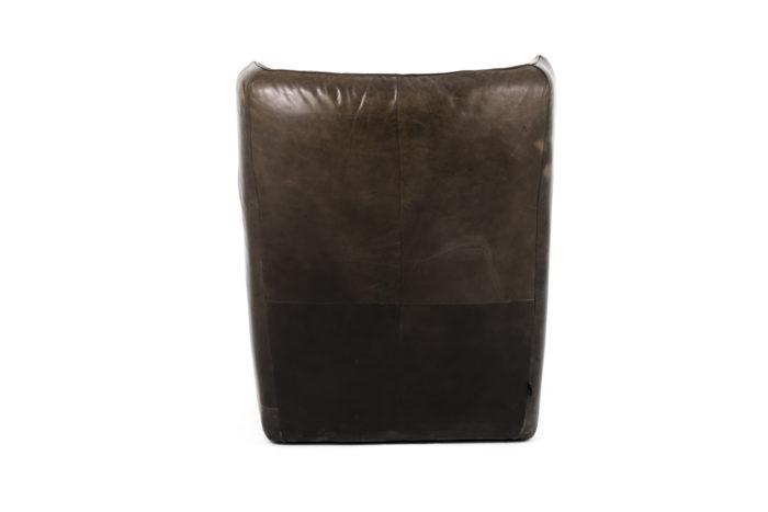 fauteuil cuir montis dos