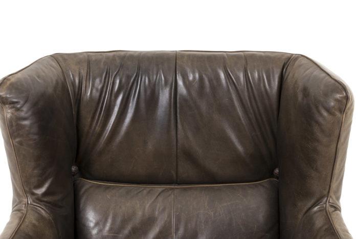 fauteuil cuir montis dossier