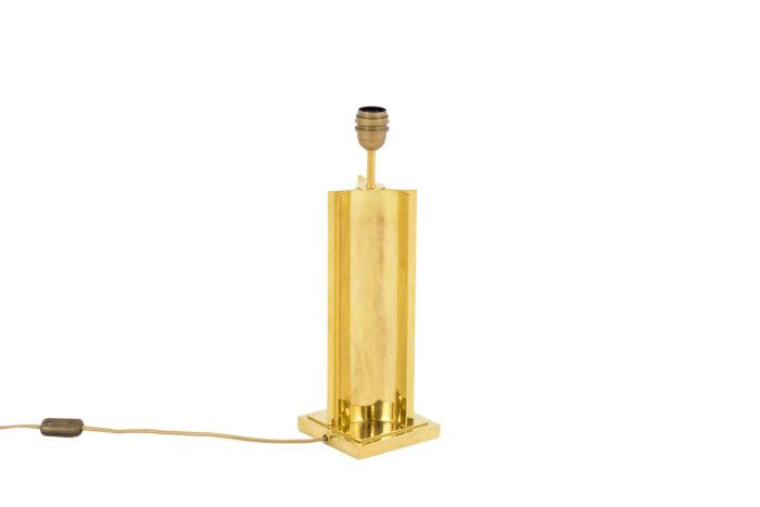 lampe moderne laiton doré fut geometrique 4