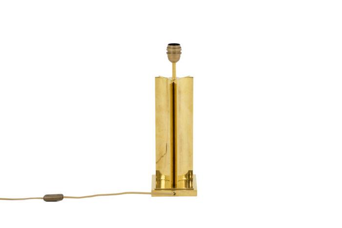 lampe moderne laiton doré fut geometrique 5