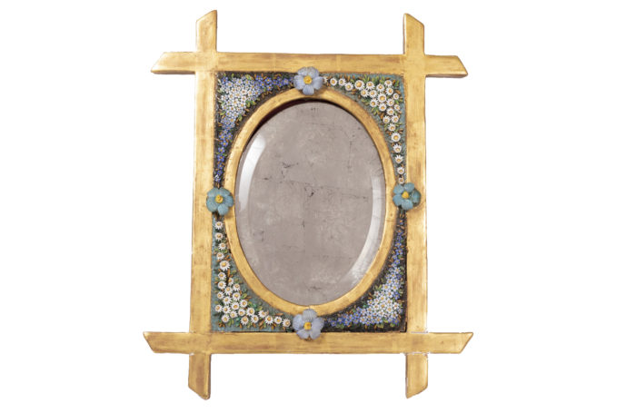 miroir de table mosaïque italien