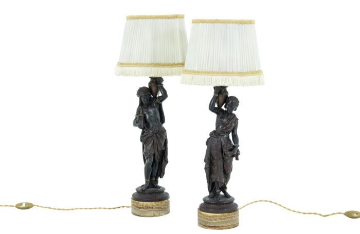 lampes orientalistes régule