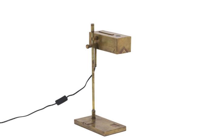 bauhaus lampe laiton doré