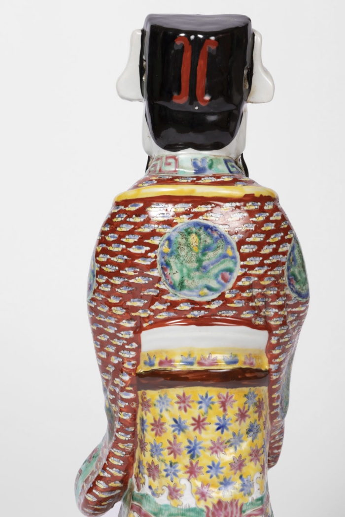 dignitaire chinois faience habit