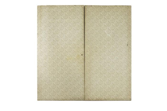 fornasetti paire de portes papier peint decor dos