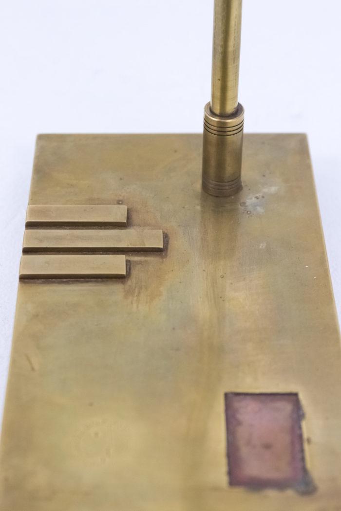 lampe bauhaus laiton cuivre base