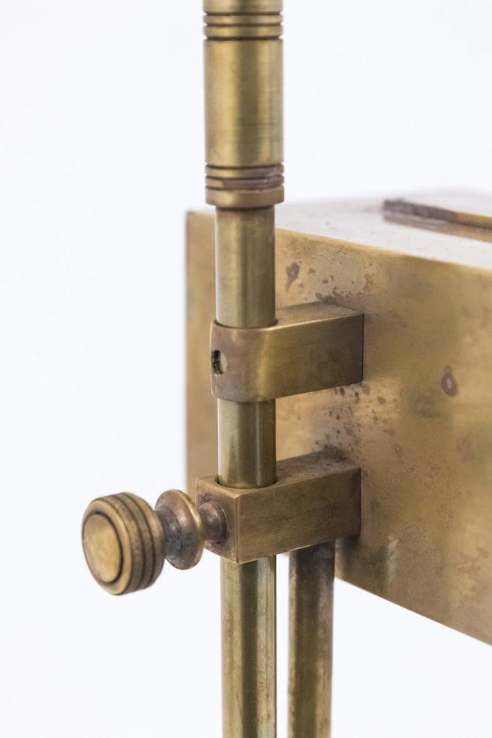 lampe bauhaus laiton cuivre fixation