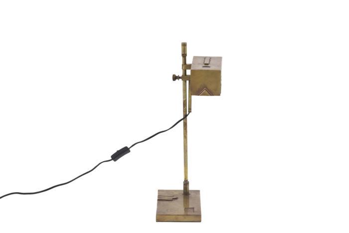 lampe bauhaus laiton cuivre side 2