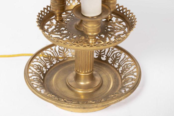 lampe bouillotte base bronze doré