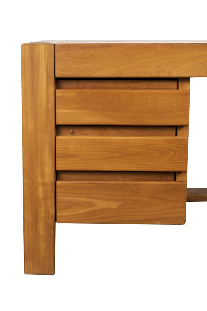 maison regain bureau orme detail tiroirs