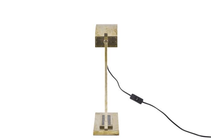 marcel breuer lampe laiton nickelé dos