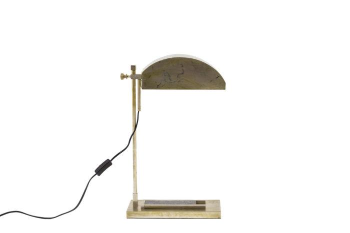 marcel breuer lampe laiton nickelé side