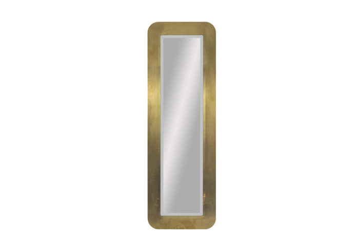 miroir laiton brossé front pcple
