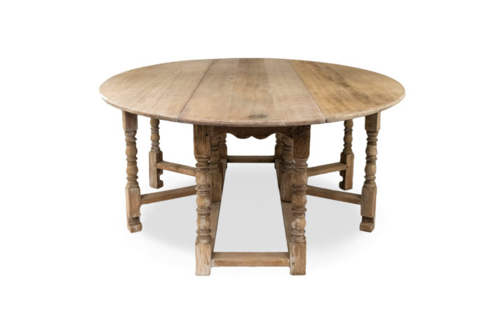 english gateleg table oak