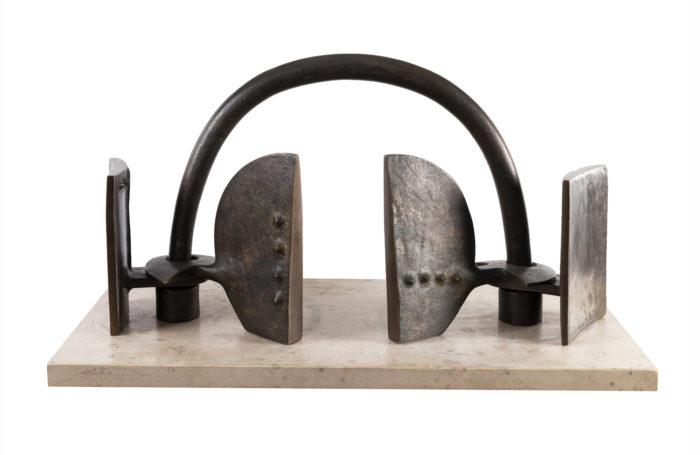 victor roman sculpture bronze la porte pcple