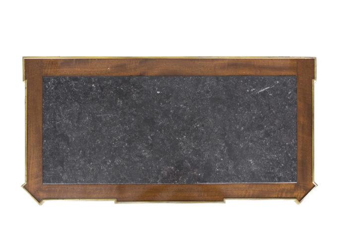 commode style louis xvi plateau marbre gris