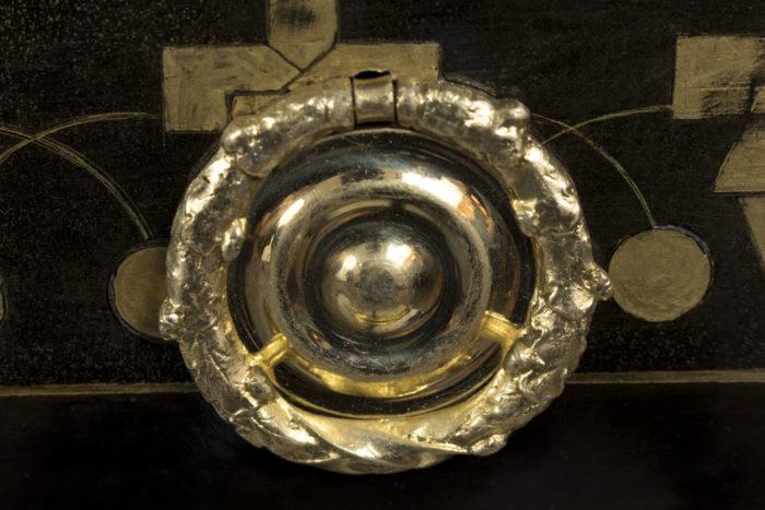 commode style louis xvi poignée bronze doré