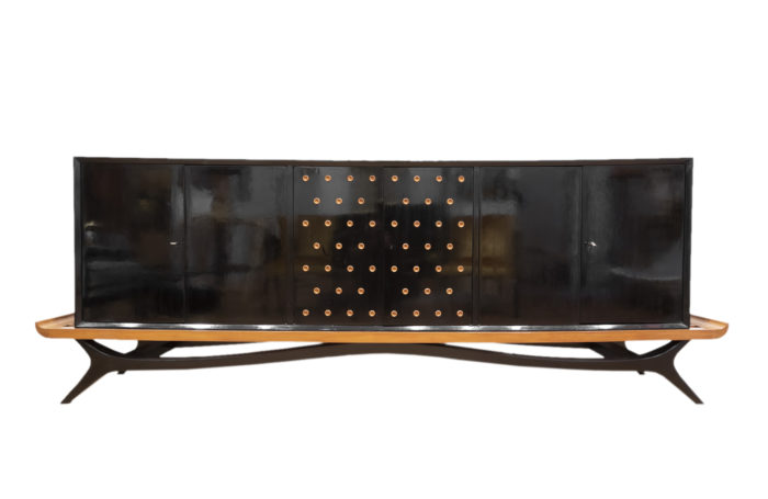 brazilian sideboard black lacquered