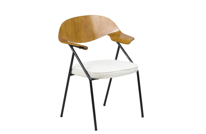 robin day armchair plywood