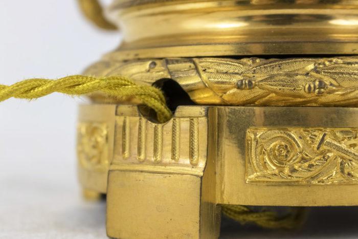gagneau lampes style louis xvi base bronze doré