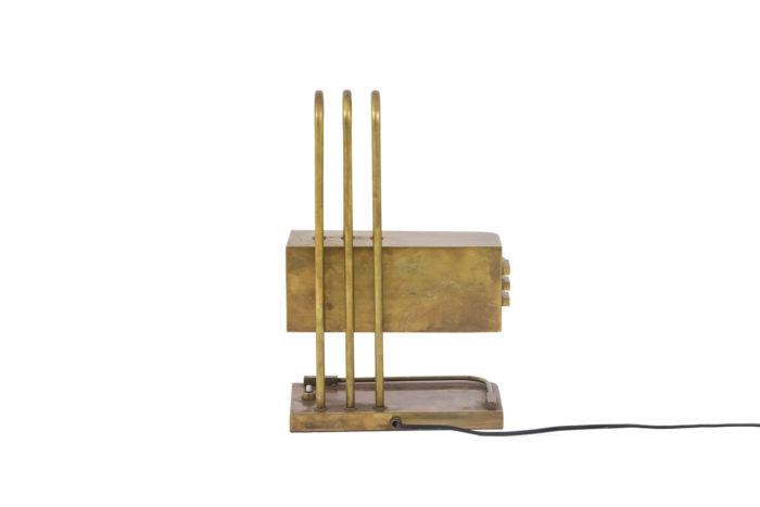 lampe bauhaus laiton doré dos