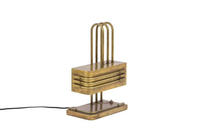 bauhaus lamp brass