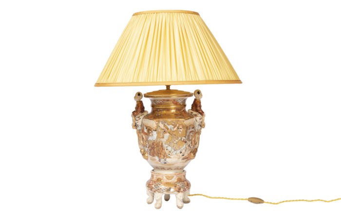 lampe faience satsuma anses personnage pcple