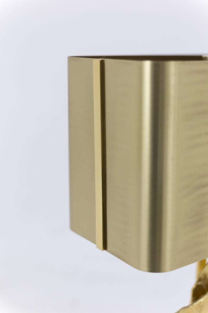 maison charles lampe guadeloupe bronze doré abat jour