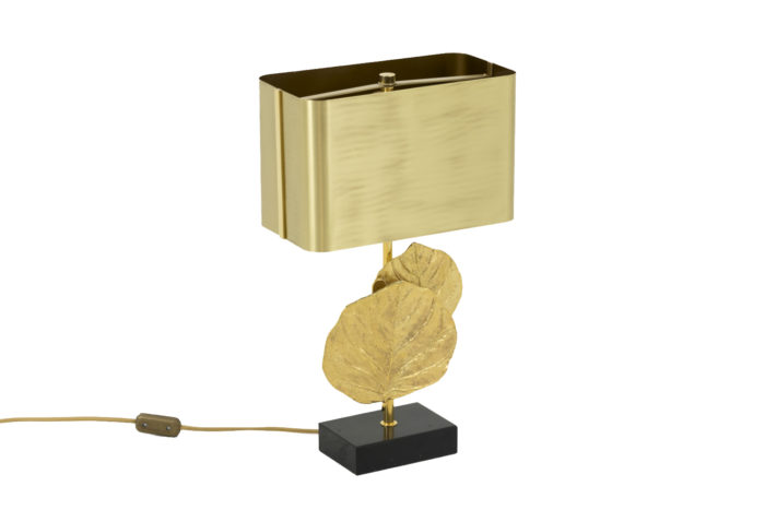 maison charles lampe guadeloupe bronze doré angle