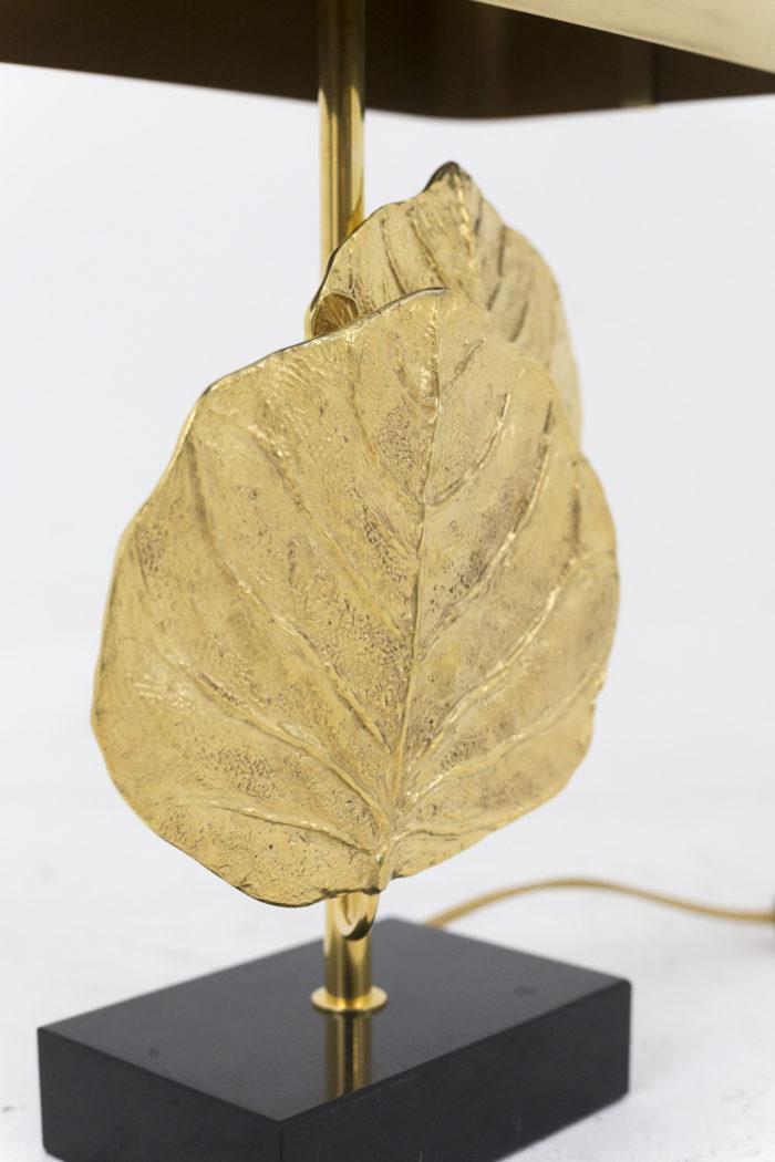 maison charles lampe guadeloupe bronze doré feuilles