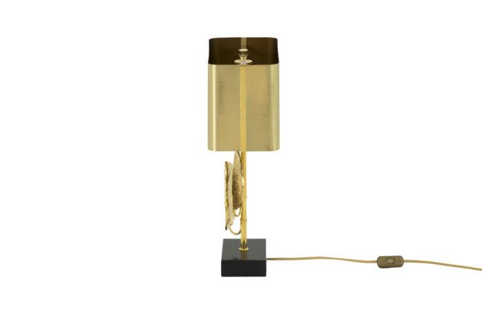 maison charles lampe guadeloupe bronze doré side