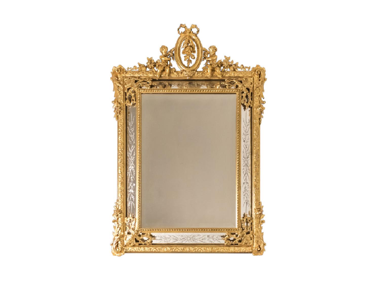 glazing beads mirror gilt wood napoleon iii